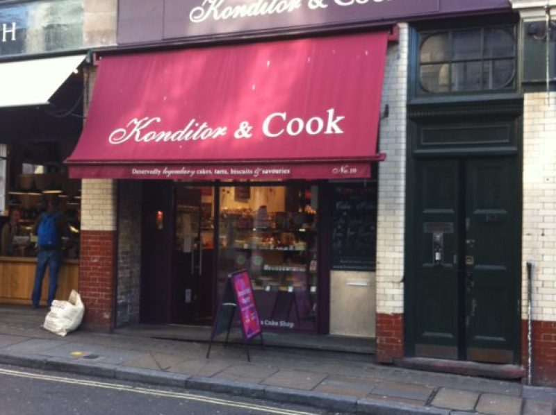 konditor and cook borough market london image