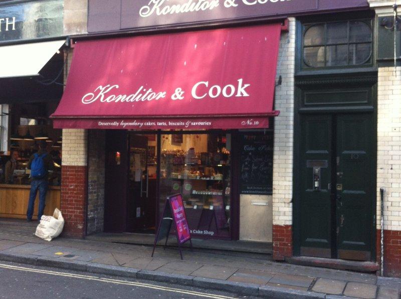 konditor and cook borough market london image