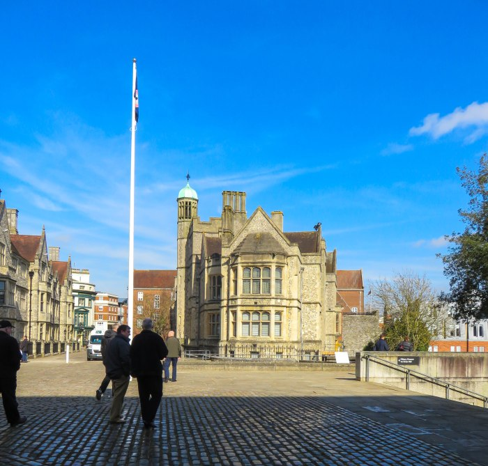 winchester outside great hall