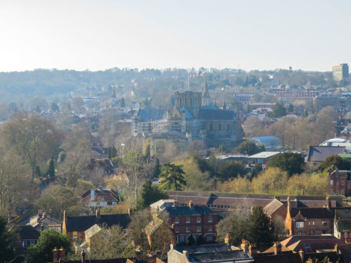 views from above in winchester