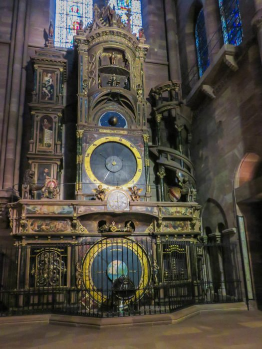 astrological clock strasbourg