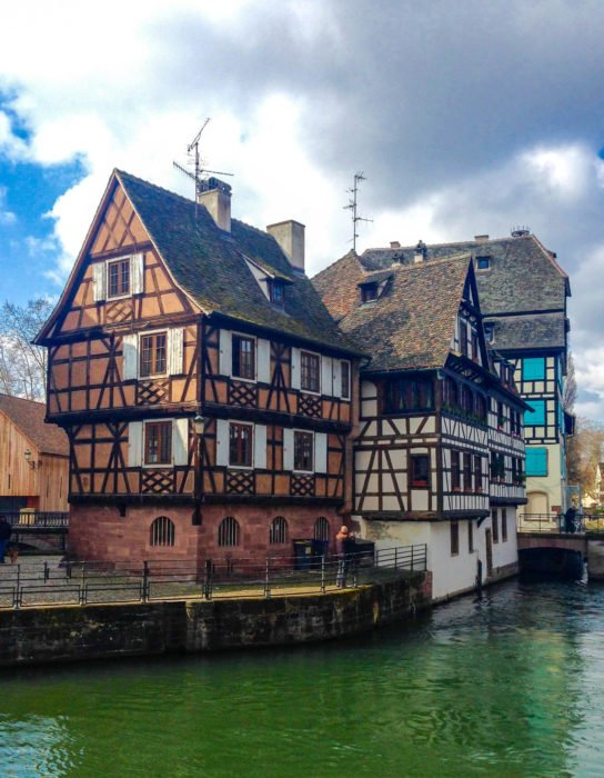 strasbourg canal houses