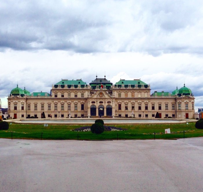 belvedere palace vienna photo