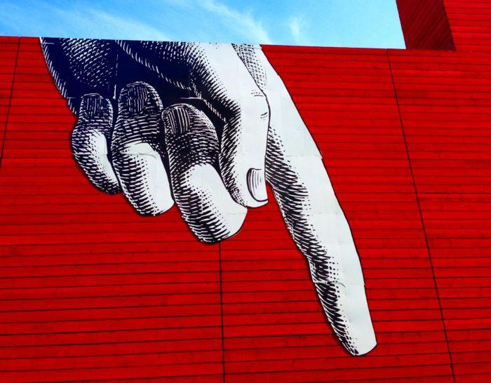 southbank london street art photo