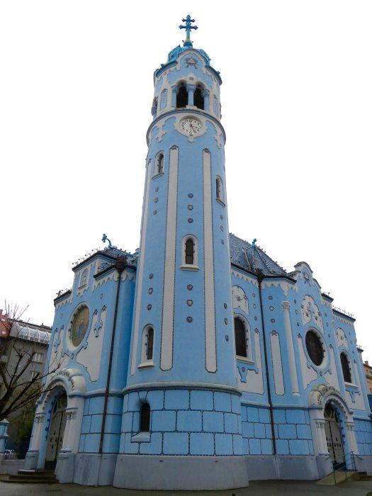blue church bratislava