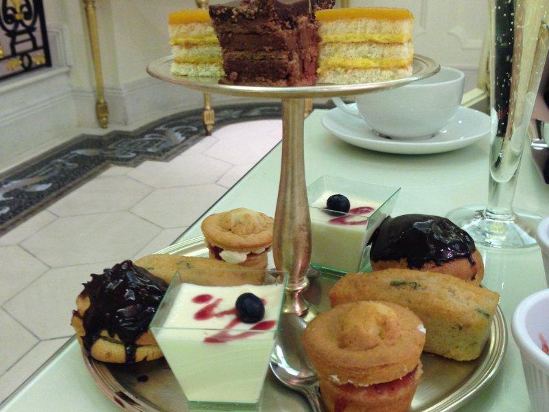 the bentley hotel london pastries