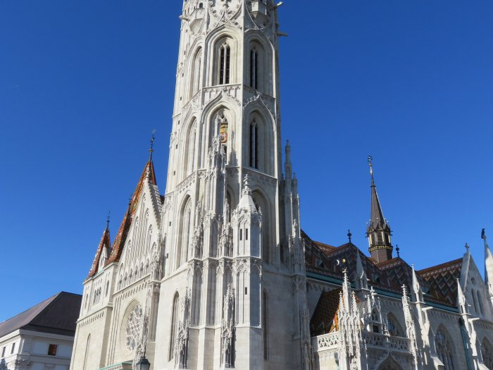 matthias church fishermans bastion budapest hungary image