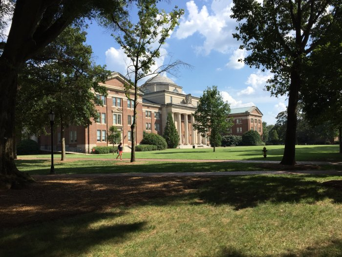 davidson college chambers