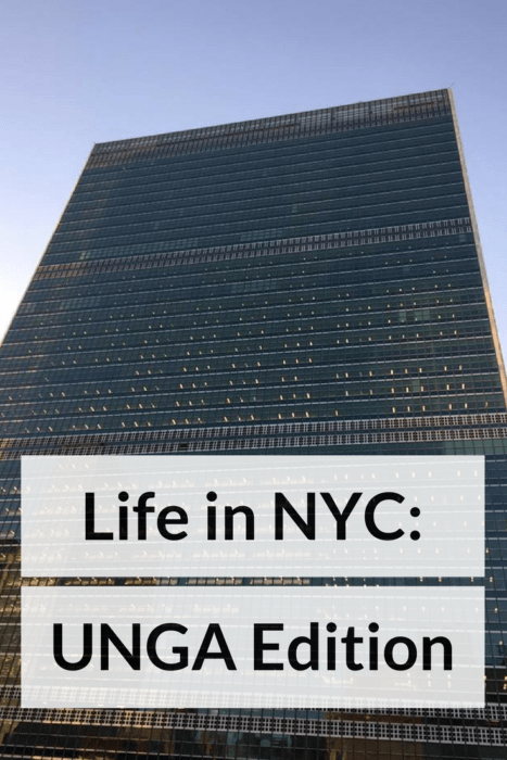 life in nyc unga edition
