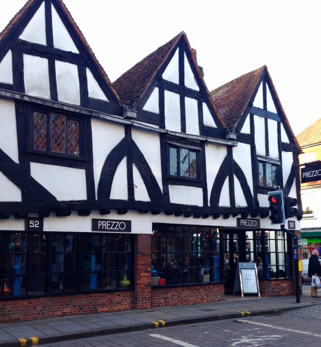 salisbury timbered buildings