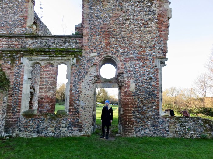 sopwell nunnery st albans england ruins
