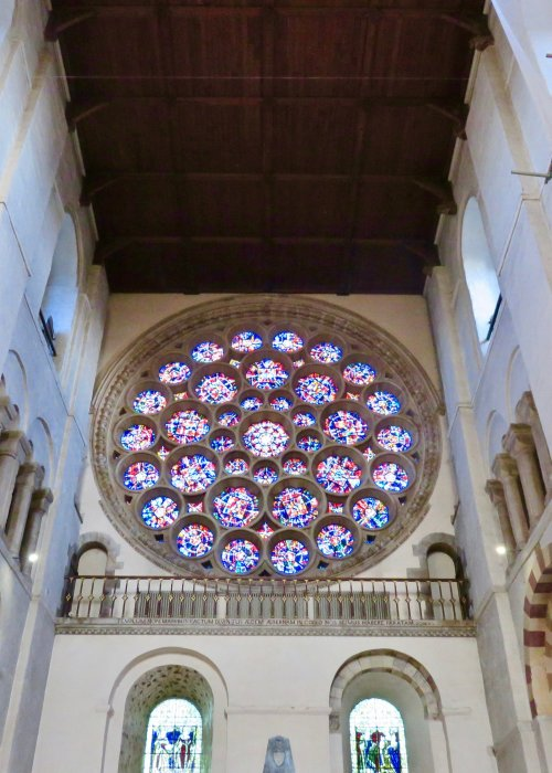 st ablans cathedral rose window