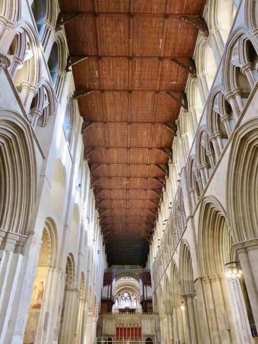 st albans cathedral wood ceiling