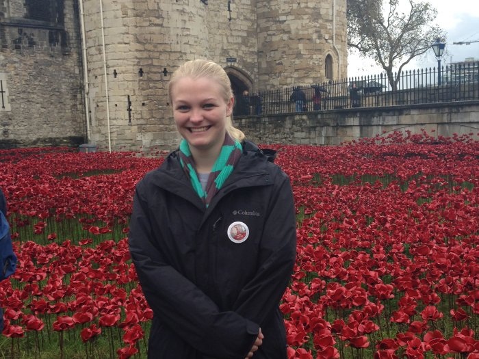volunteering at the tower of london poppies