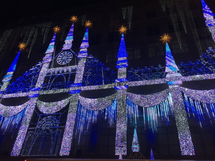 sake fifth avenue holiday light show
