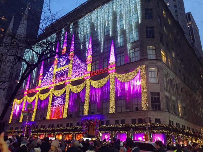 sake fifth avenue christmas light show