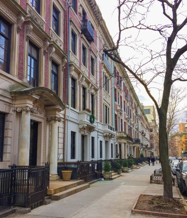 upper west side brick houses
