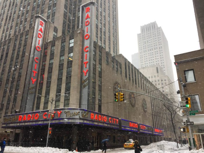 radio city music hall nyc storm stella