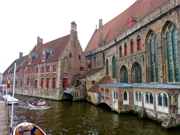 bruges view from canal