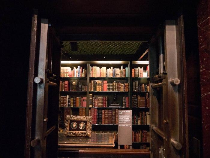 book vault morgan library