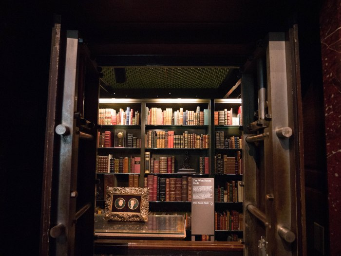 book vault morgan library