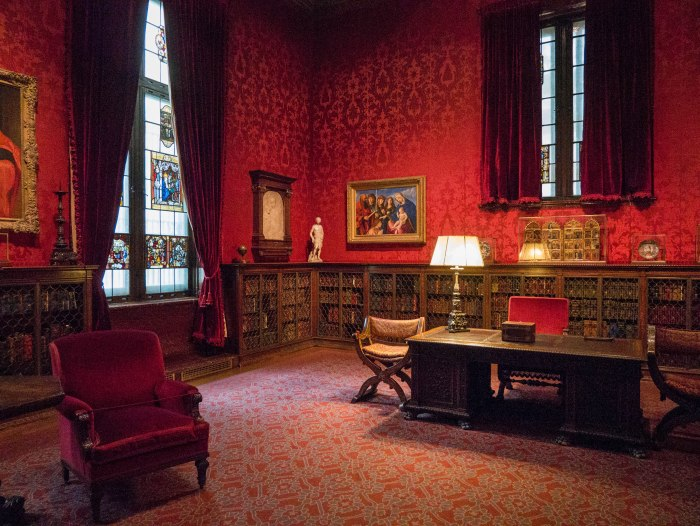the west room at the morgan library, a beautiful hidden gem in the heart of manhattan, new york city