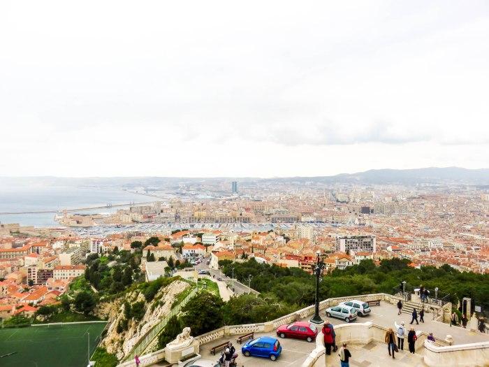 views from notre dame de la garde marseille france