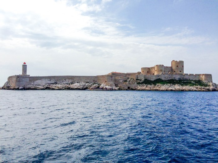 chateau d'if marseille france