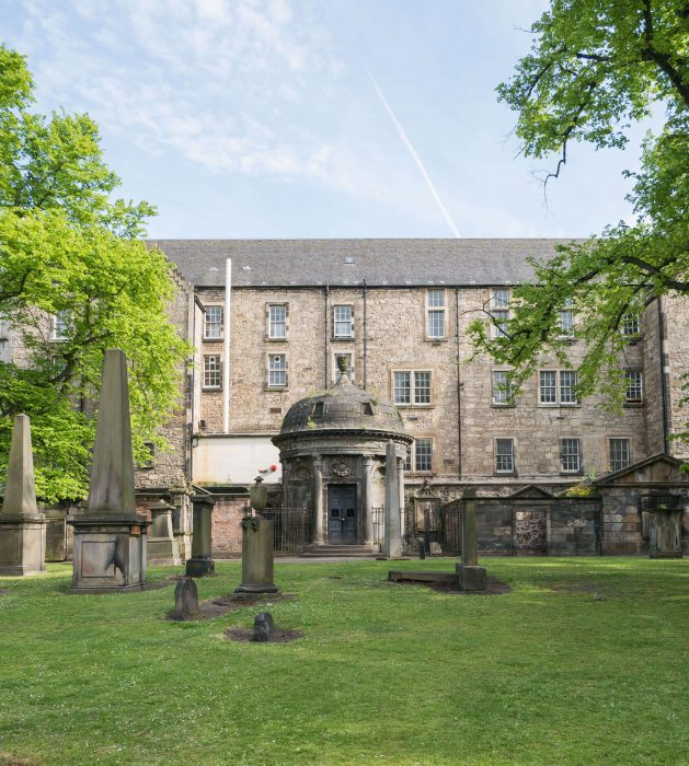 image greyfriars kirkyard, a must-visit spot in Edinburgh, Scotland and home to Harry Potter inspiration