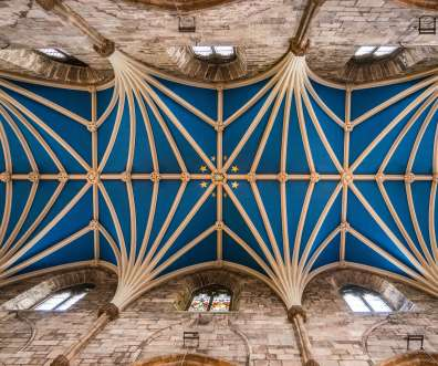 main aisle ceiling st giles cathedral edinburgh