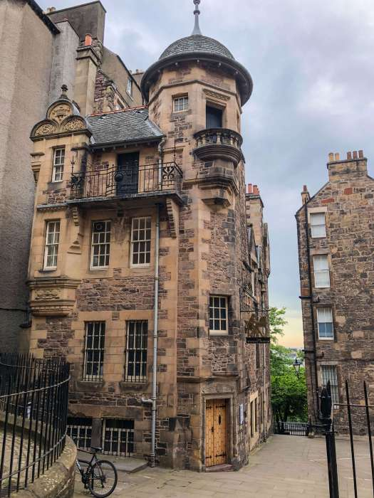 image of the writer's museum in edinburgh scotland