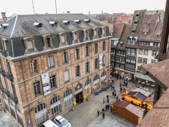 strasbourg cathedral from above 1