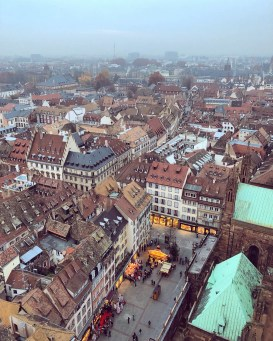 strasbourg cathedral from above 11