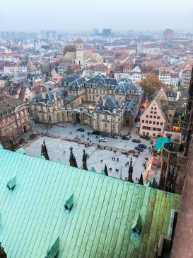 strasbourg cathedral from above 12