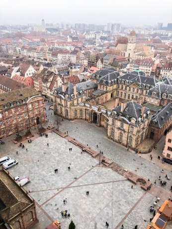 strasbourg cathedral from above 5