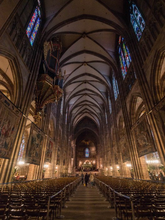 strasbourg cathedral interior, a must-visit in strasbourg france