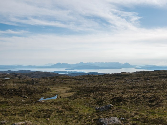 applecross viewpoint scottish highlands bealach na ba