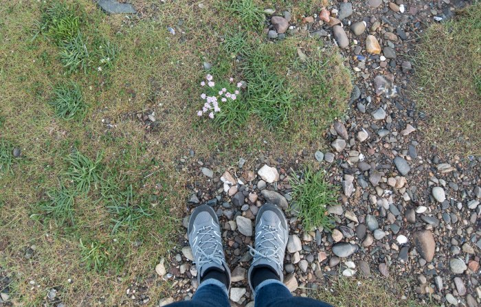 hiking boots in scotland