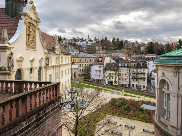 baden-baden germany town center