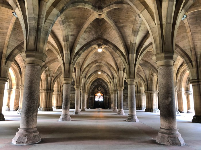 university of glasgow cloisters outlander filming location