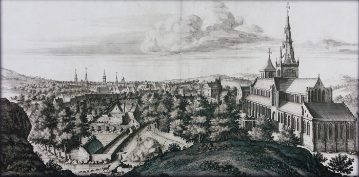 glasgow cathedral engraving from 1693