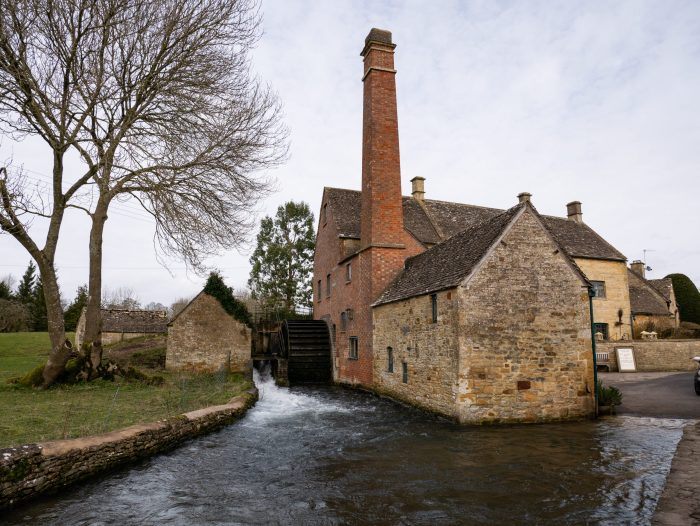 lower slaughter water mill in the cotswolds