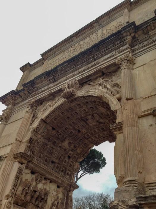 arch of titus roman forum