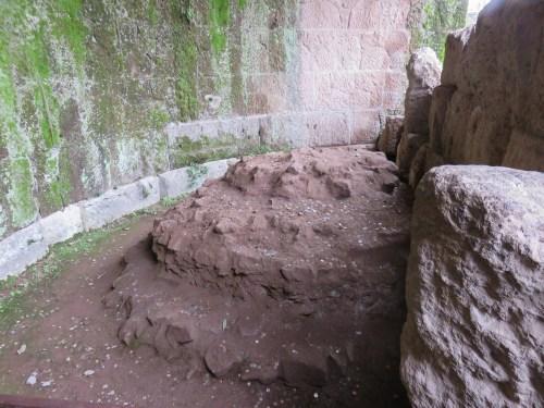 altar where caesars ashes were laid roman forum