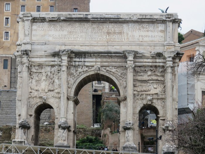 arch of septimus severus roman forum