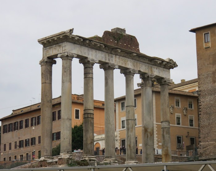 temple of saturn roman forum