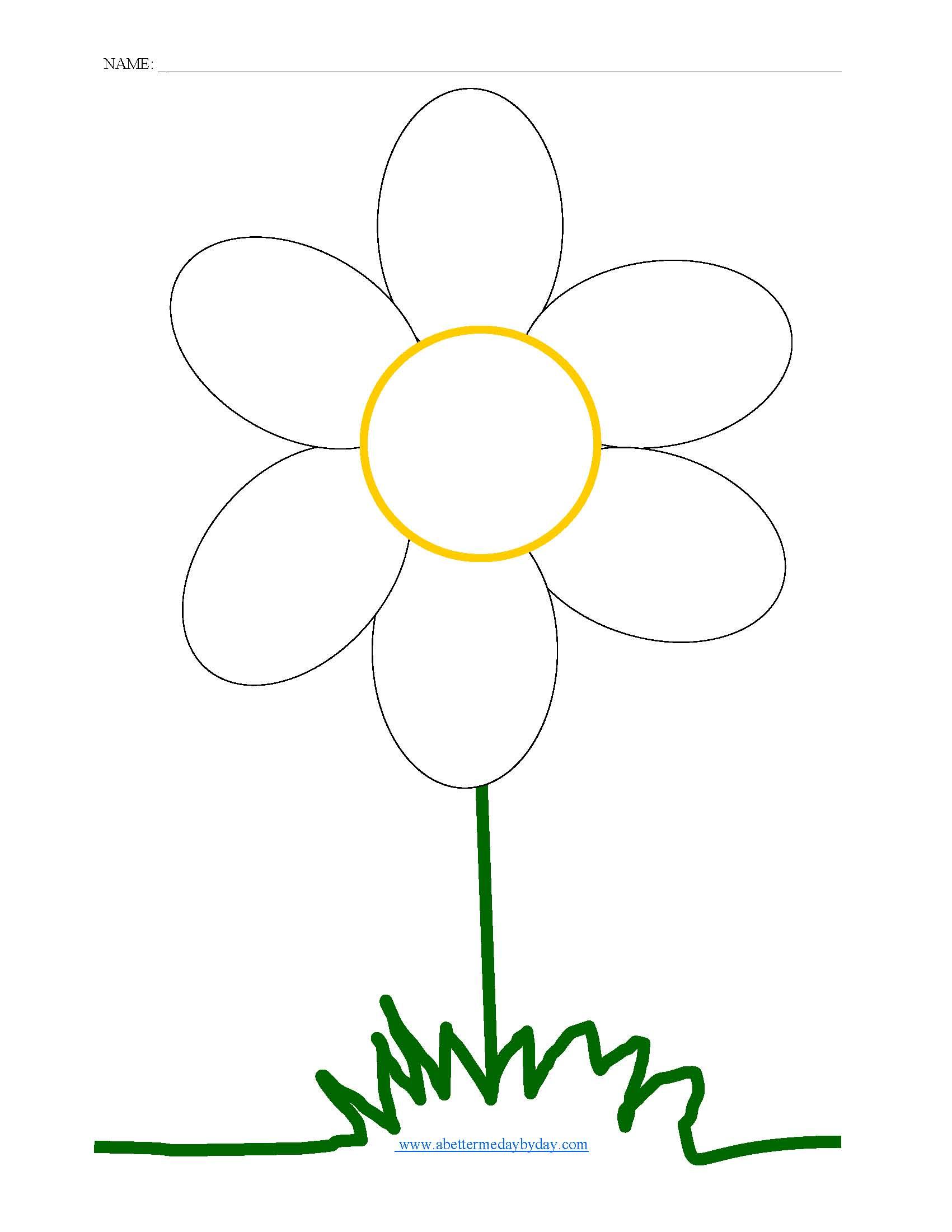 Phonics Family Flower