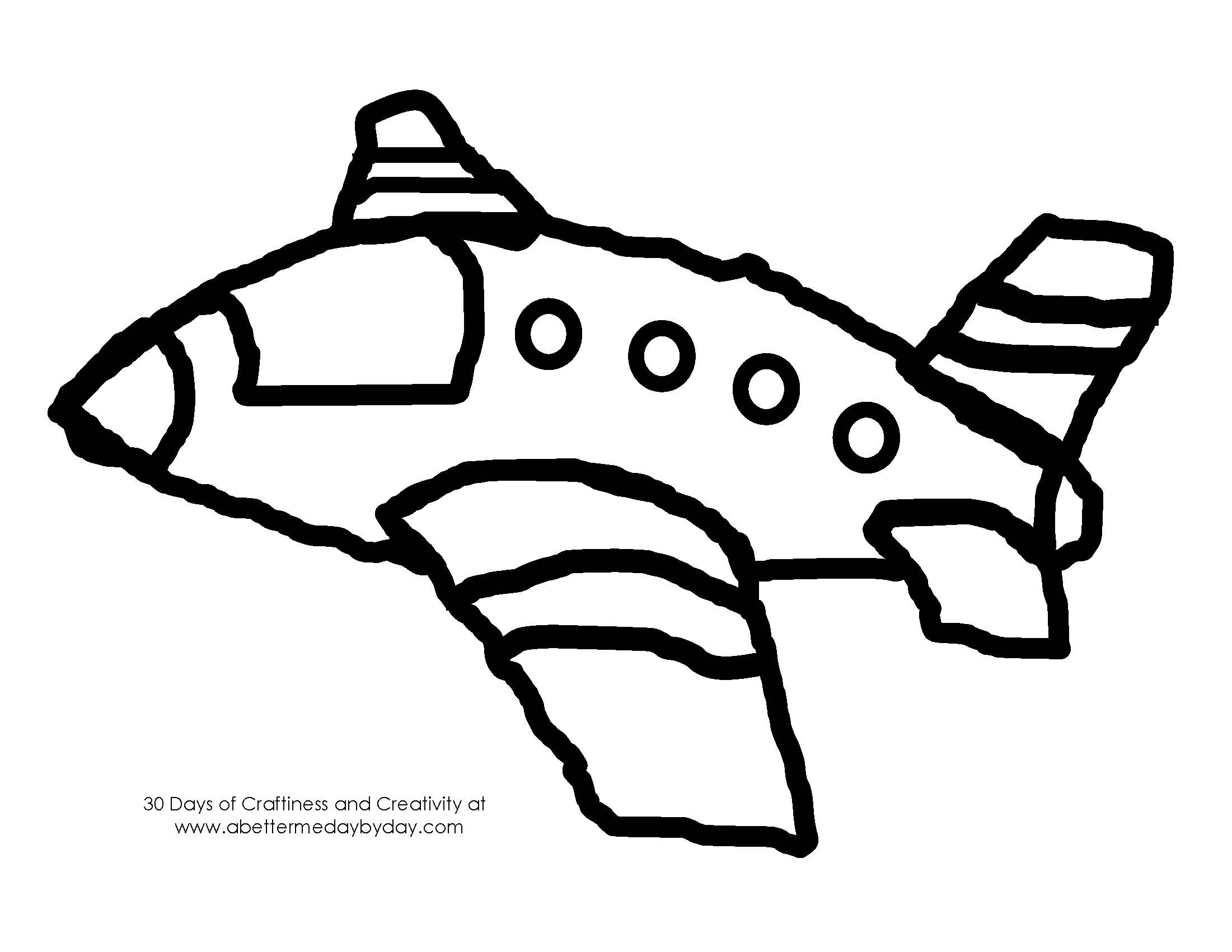 boeing 747 p coloring pages