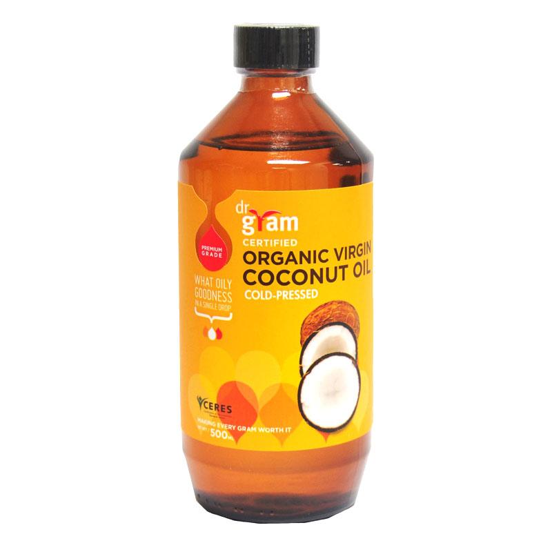 Dr Gram Organic Virgin Coconut Oil 500ml - Lifewinners ...