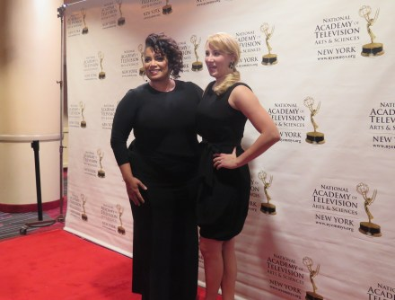 """Micheala Pereira, Co-Anchor of CNN's """"New Day"""" (left). Photo: Meredith Arout for Life-Wire News Service."""